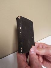 1860 WWII New Testament - Bible - American bible Society - NY