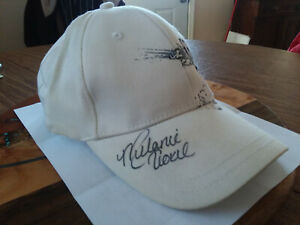 Autographed Cap IN and OUT Burger, Melanie Troxel Race Cap