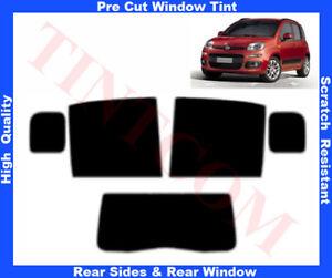 Fiat Panda 5D 2012-... Pre-Cut Window Tint 5%-50% Rear Window & Rear Sides