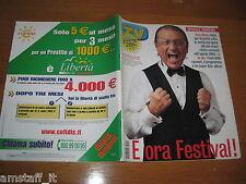 TV SORRISI E CANZONI=2004/10=SPECIALE FESTIVAL SANREMO=TONY RENIS=