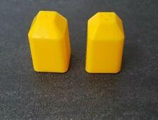 BN Yellow Lego Salt /& Pepper Heads.plus Set Off Scales