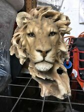The Lion Of Judah Art Figurine & Lion Head Statue Sculpture