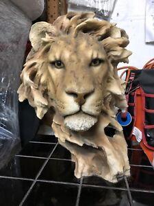 The Lion Of Judah Art Figurine & Lion Head Statue Sculpture