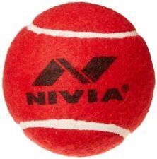 Nivia Red Heavy Tennis Ball Cricket Ball Pack of 6