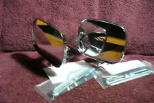NEW PR CIPA CH  DUEL SPORT DOOR MIRRORS .AUTO TRUCK PART HOT RAT ROD ACCESSORY 1