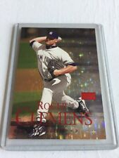 ROGER CLEMENS 2000 SKYBOX PREMIUM STAR RUBIES EXTREME #128SRE SERIAL #39/50