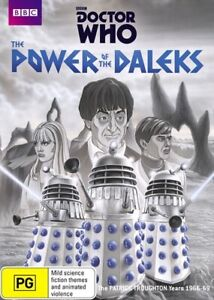 Doctor Who - The Power Of The Daleks DVD   Patrick Troughton Years 1966 - 69 BBC