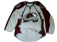 Colorado Avalanche Authentic Team Issued Reebok Edge 2.0 Hockey Jersey 52