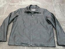 CALVIN KLEIN PVC BLACK JACKET SIZE L VERY GOOD CONDITION!!!!!!