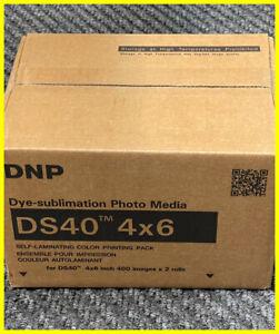 DNP DS40 4x6 Print Kit Paper & Ribbon
