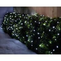 Bright White LED Light String, Flashing Chasing Static Low Energy 19m - 200 LEDs