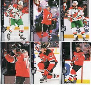 20-21 2020-21 Upper Deck New Jersey Devils Series One Team Set-6 Cards-Subban
