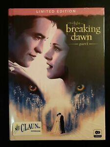 Breaking Dawn Parte 1 The Twilight Saga.   Digibook 2 Dischi DVD Nuovo Sigillato