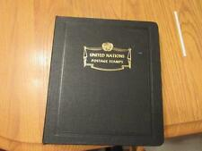 White Ace United Nations Stamp Album & Stamps 1977-85 Treasure Hunt