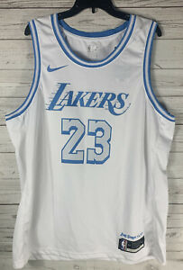 LEBRON JAMES Los Angeles LAKERS Nike WISH 2020-21 City Edition Swingman XXL