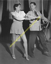 ACTRESS RITA HAYWORTH NICE LEGS DANCING IN SHORTS LEGGY 8 X 10 PHOTO A-RH11