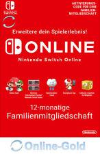 Nintendo Switch Online Family Membership EU 12 Monate 365 Tage Download EU Code