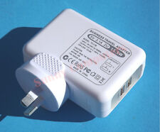 2 USB Ports Wall Charger Travel Adapter for iPhone iPad iPod All Series AU Plug