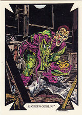 1989 COMIC IMAGES MARVEL TODD MCFARLANE CARD #22 GREEN GOBLIN