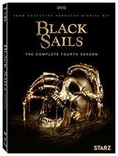 Black Sails The Complete Fourth Season 4 Four (DVD,2017,3-Disc Set) NEW