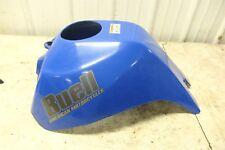 06 Buell Blast P3 500 blue plastic gas fuel tank cover cowl fairing