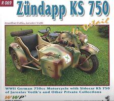 Zundapp KS 750 WWII German 750cc Motorcycle: WWP R 069