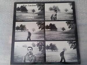 Ken Lauber - Contemplation View Neuf / Scellé '70 Loner Folk Psych Ssw (LP)