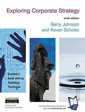 Exploring Corporate Strategy: Text Only, Scholes, Kevan, Johnson, Gerry, Very Go