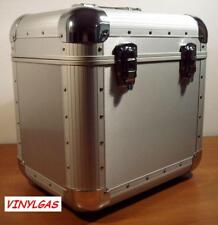 FLY CASE VALIGIA silver contenente 80 LP box flight case dischi vinile