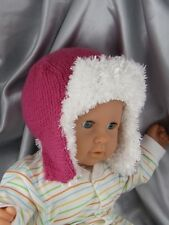 PRINTED INSTRUCTIONS-BABY TRAPPER HAT KNITTING PATTERN