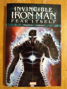 Invincible Iron Man Fear Itself Premiere Hardcover