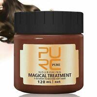 Purc Magical Keratin Hair Treatment Mask 5 Seconds Repairs Damage Hair 120ml New