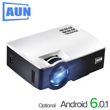 Projector AKEY Plus Home Theater, 1800 Lumens, HDMI Support HD Android 6.0.1