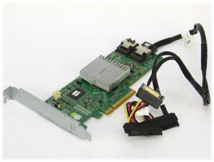 Dell PERC H310 6Gbps RAID-Controller PCIe x8 mit Kabel auf 2x SAS/SATA HDD/SSD
