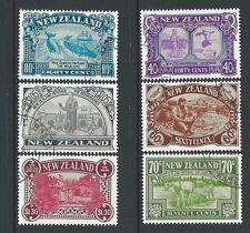 La Nouvelle Zélande 1989 Patrimoine ensemble de 6 utilisé fine