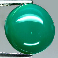 8.08 CT NATURAL! GREEN BOTSWANA AGATE OVAL CABOCHON