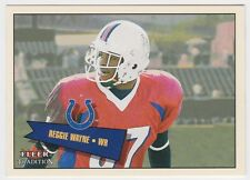 2001 FLEER TRADITION REGGIE WAYNE RC ROOKIE CARD #409 NUMBERED 440/699
