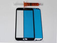 SAMSUNG GALAXY NOTE 2 N7100 LTE FRONT GLAS SCHEIBE TOUCH UV KLEBER LOCA SCWARZ