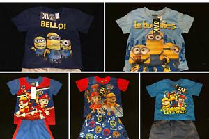 Assorted Boys Clothing - Sleepwear and Outdoor Wear