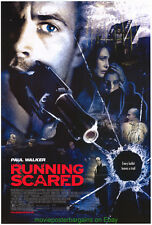 RUNNING SCARED MOVIE POSTER ORIGINAL SS 27x40 PAUL WALKER 2006 FILM
