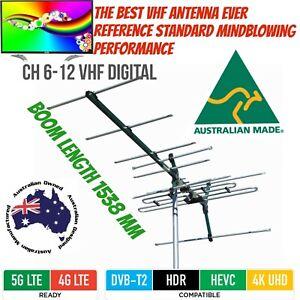 VHF tv antenna matchmaster 8 element outdoor Vertical mount digital 03MM Dc21V