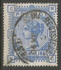 STAMPS-GREAT BRITAIN. 1883. 10/- Ultramarine. SG: 183. Fine Used.