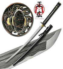 Masahiro - Folded Steel Samurai Sword - 1000+ Layers - Dragon Battle Ready