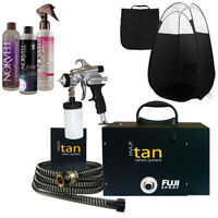 Fuji Ultra Quiet Spray Tan System with Tanning Solution & Tent
