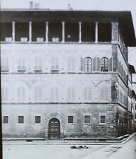 Palazzo Guadagni, Florence, Italy, Magic Lantern Glass Photo Slide