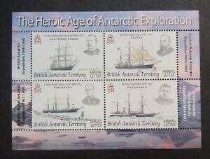 BAT Brit Antarc Terri 2008 Explorers and ships MS473 MNH UM unmounted mint