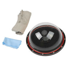 Shoot 7.6'' Dome Port Underwater Diving Camera Cover Lens for  xiaoyi 3+ 4