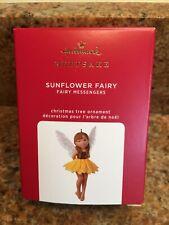 New Listing2020 Hallmark Sunflower Fairy Fairy Messengers New Keepsake Ornament