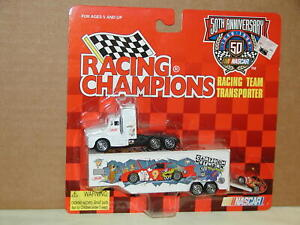 Nascar Cartoon Network #9 Race Car Transporter Racing Champions 1998 Red CarLogo