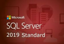 SQL Server 2019 Standard 24 Cores Unlimited CAL Product Key/ 30 Sec Delivery